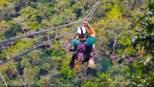 ziplining pic